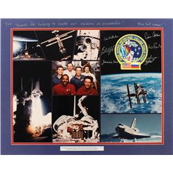 STS-63 Flown Patch Display