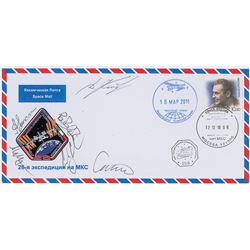 Expedition 26 Flown Signed Cover