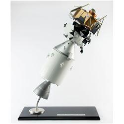 Apollo Command Service and Lunar Module Model