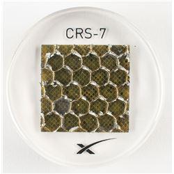 SpaceX Dragon CRS-7 Flown Solar Array Fragment