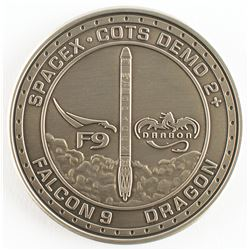 SpaceX Dragon COTS-2 Employee Medallion