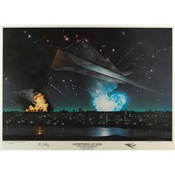 Al Whitley Signed Print by Steven Moore