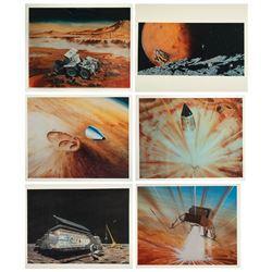 NASA Group of (11) Space Travel Transparencies