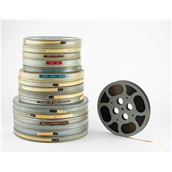 Space Missions Group of (16) NASA Film Reels