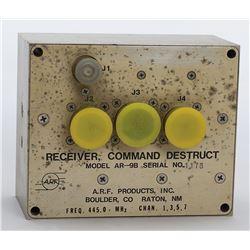 Launch Vehicle Command Destruct Receiver