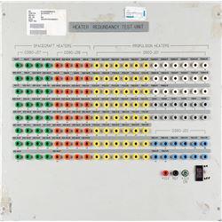 Spacecraft Heater Redundancy Test Unit Patch Panel
