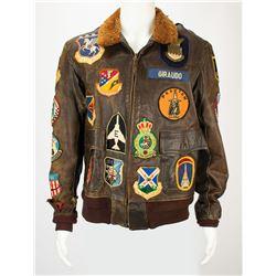 John C. Giraudo's Air Force Jacket and Scarf