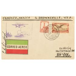 Charles Lindbergh Signed Cover