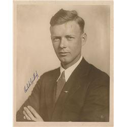 Charles Lindbergh Signed Photograph