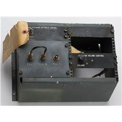 Aircraft Avionics Mounting Frame with Raymond Flight Recorder