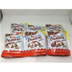Kinder Bueno Mini Milk Chocolate Wafers (145g) Lot of 6