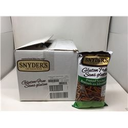 Case of Synder's Gluten Free Pretzel Sticks (12 x 200g)