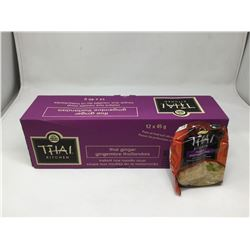Case of Thai Kitchen Thai Ginger Instant Rice Noodle Soup (12 x 45g)