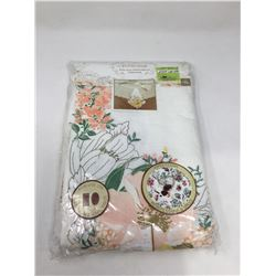 """Home Wear Embroidered Tablecloth (60"""" x 120"""")"""