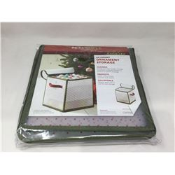 """Real Simple Solutions 64-Count Ornament Storage Box (12"""" L x 12"""" W x 12.3"""" H)"""