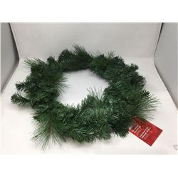 """Home Accents Holiday 26"""" Mixed Pine Wreath"""