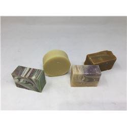 Bar Soap Assorted Lot of 4