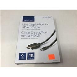 Insignia Mini DisplayPort to HDMI Cable