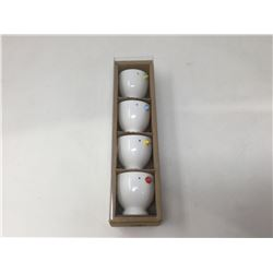 Bia Set of 4 Chick Egg Cups
