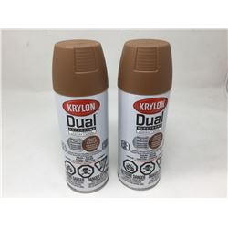 Krylon Dual Superbond Paint and Primer Aerosol Spray (2 x 340g)