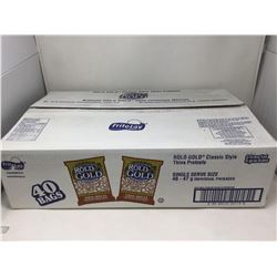 Case of Rold Gold Classic Style Thin Pretzels (40 x 47g)