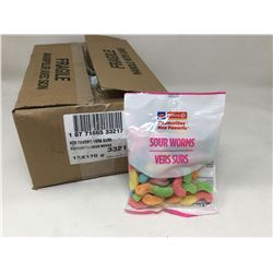 Case of Circle K Sour Worms (12 x 170g)