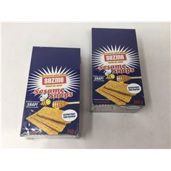 Sezme Sesame Honey Snaps (360g) Lot of 2