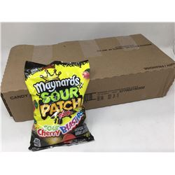 Case of Maynards Sour Patch Kids Sour Cherry Blasters (12 x 185g)