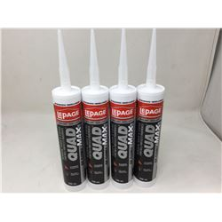 LepageQuad Max Window,Door, Siding Sealant (280mL) Lot of 4