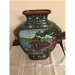 Asian style Brass Vase