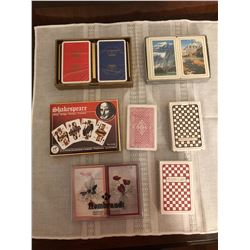 11 decks of playing cards
