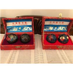 2 Sets Chinese Health Giving Balls