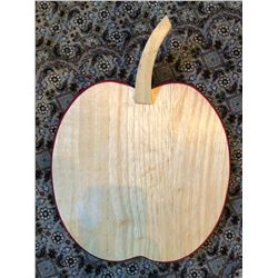 Wooden Apple Cutting Board