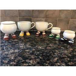 Carlton Ware Cups