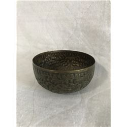 Small Embossed Copper Bowl