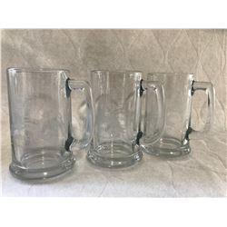 3 Beer Mugs