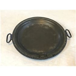 Hollow Metal Dish