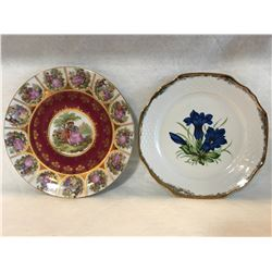 2 Plates Bavaria Germany
