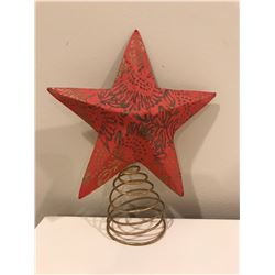 Red tree star