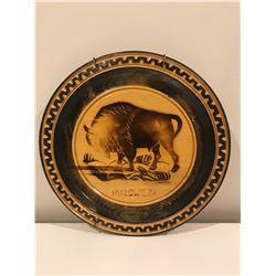 Buffalo wall plate