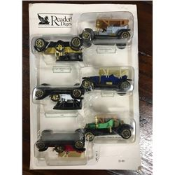 Set of Miniature Vintage Cars