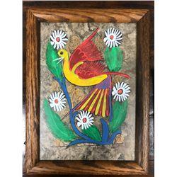 2 Bird Paintings