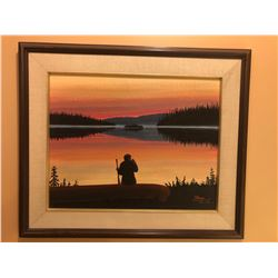 Colville Lake NWT Painting