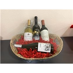 4 Wine Basket