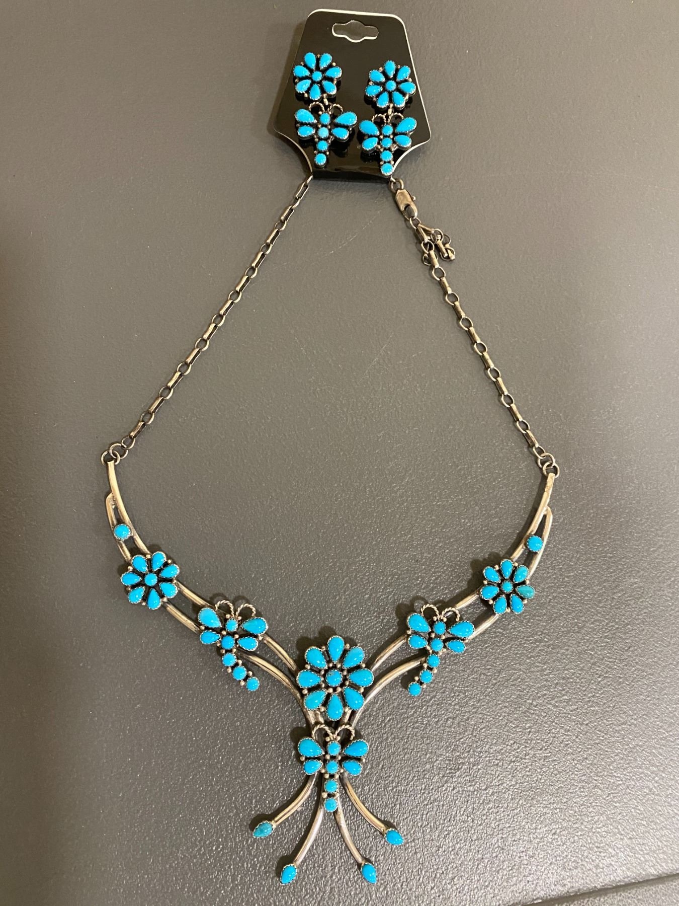 Silver & Turquoise Jewlery