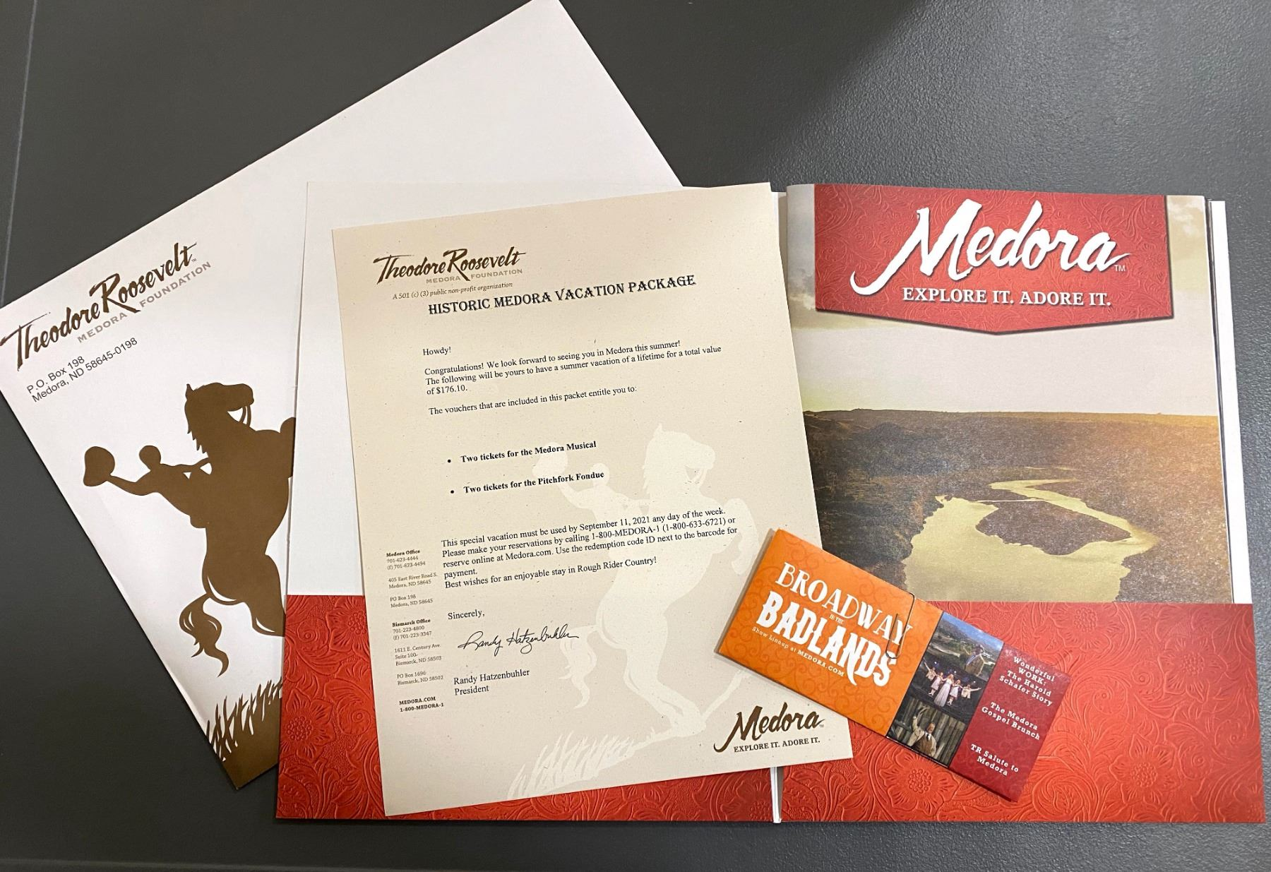 Historic Medora Vacation Package