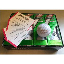 4 Bully Pulpit Golf Passes & Golf Balls