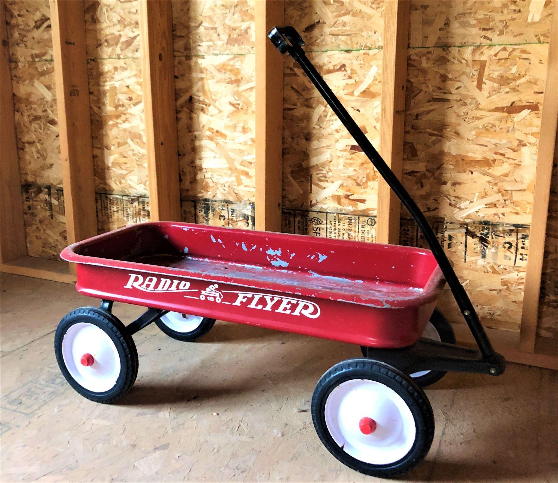 Authentic Radio Flyer Red Wagon