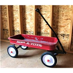 Authentic Radio Flyer Red Wagon