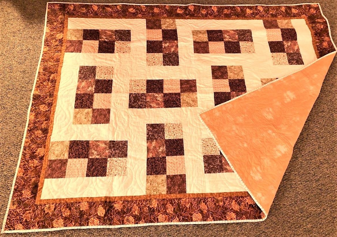 Floating 8's Quilt